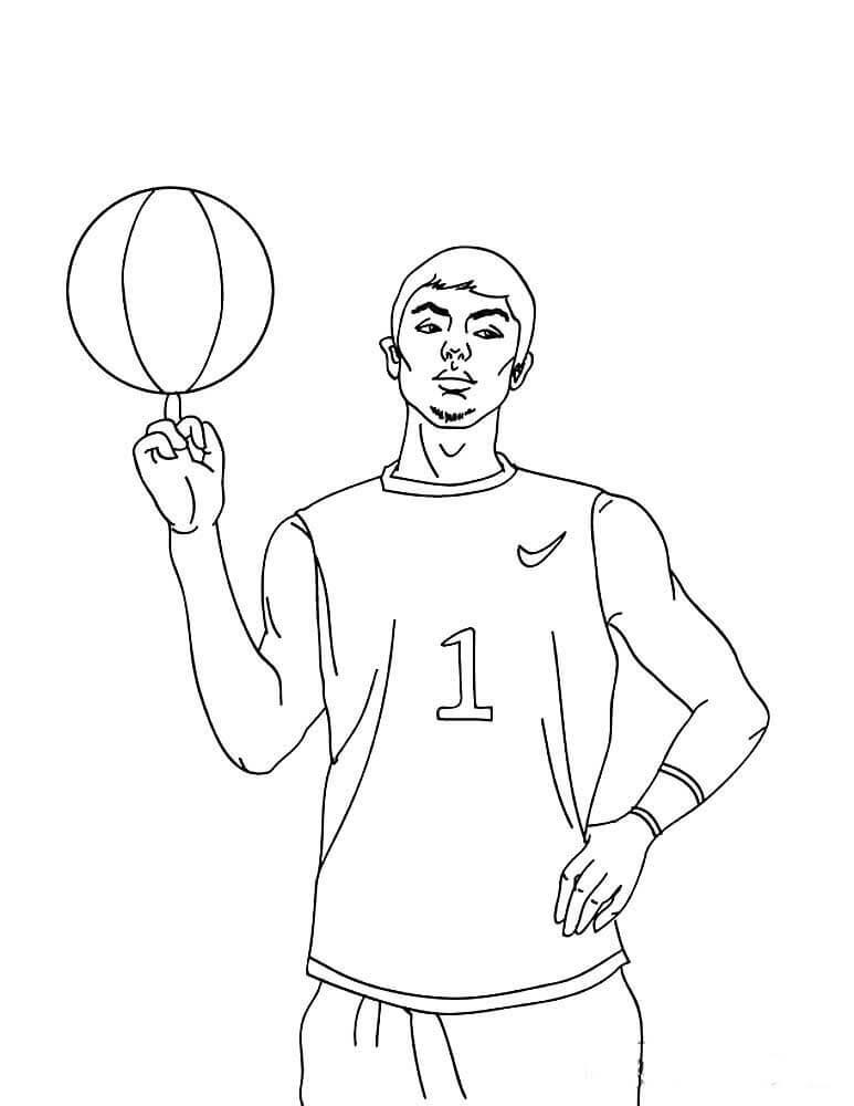 картинки для срисовки про спорт баскетбол