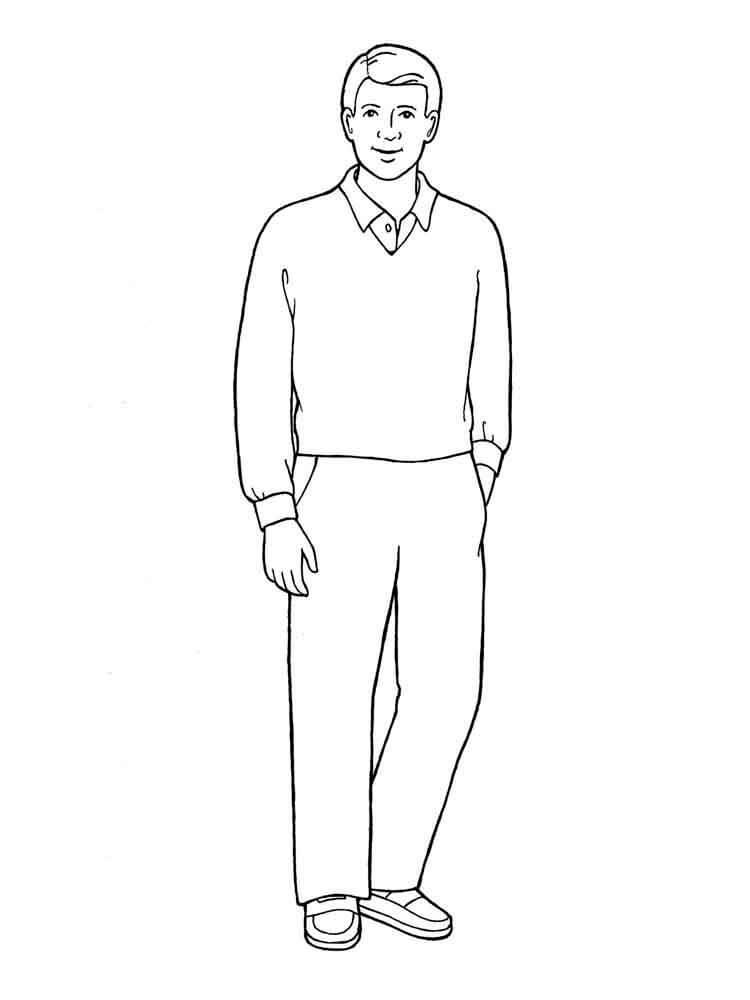 фигура человека для срисовки простые