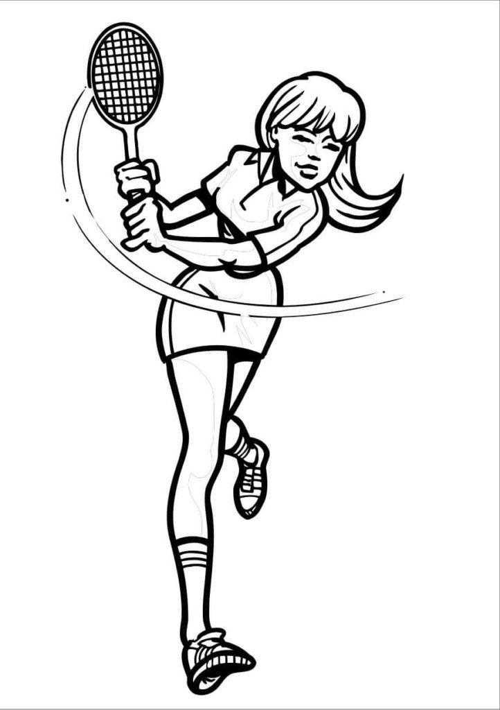 рисунки про спорт для школьников срисовать