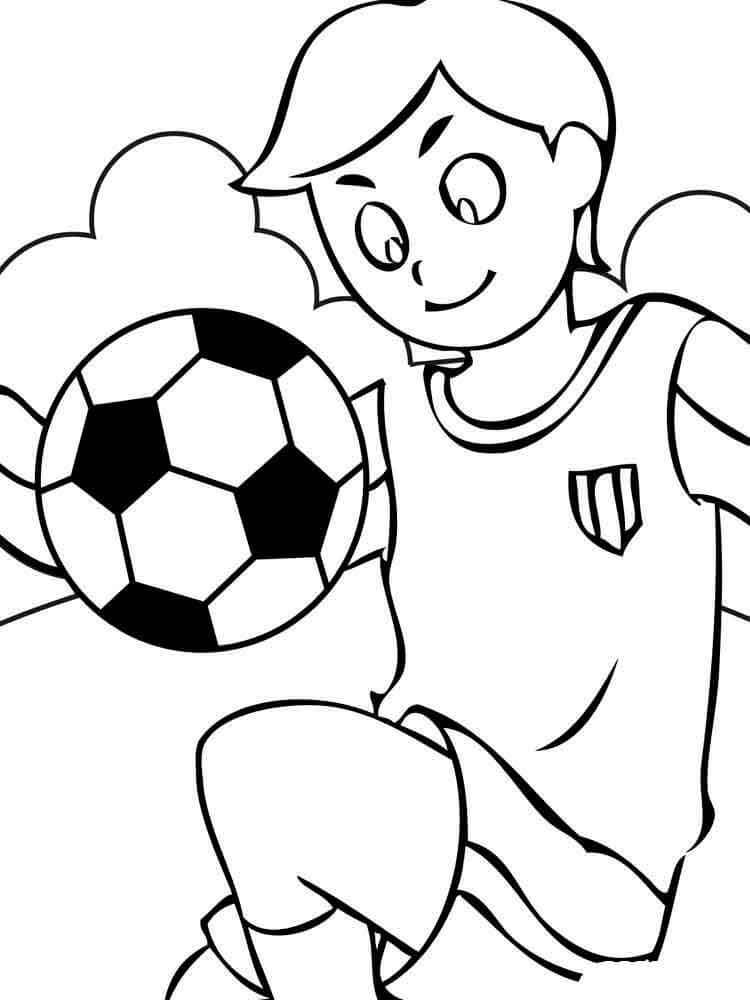 картинки для срисовки про спорт мультяшные
