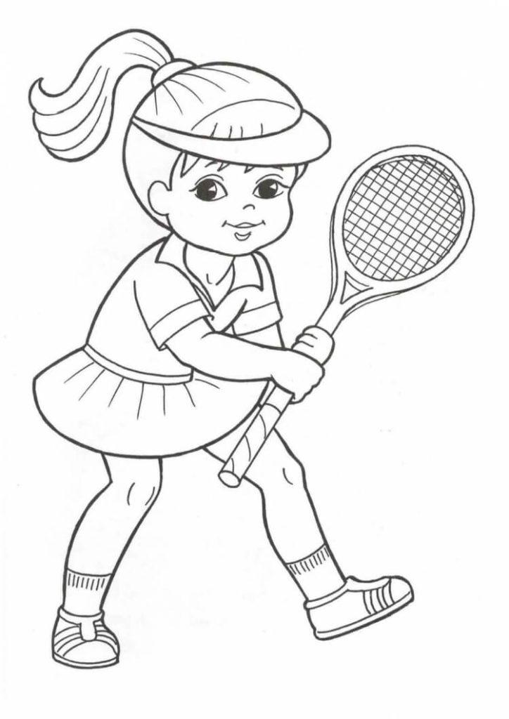 рисунки для срисовки спортивные мультяшные