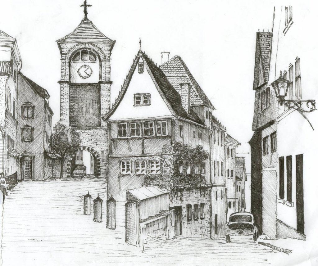 картинки для срисовки город