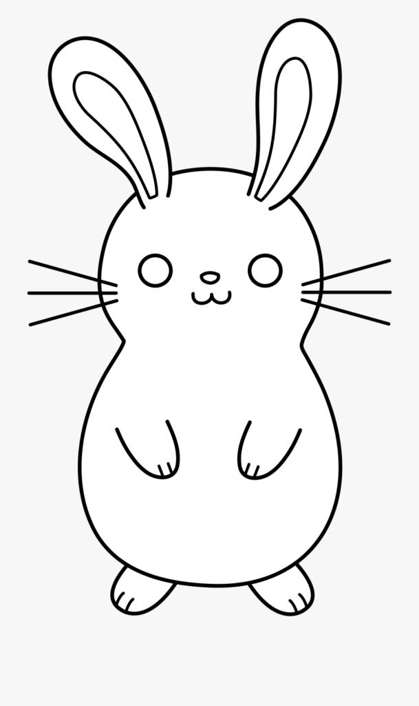 картинки кроликов для срисовки
